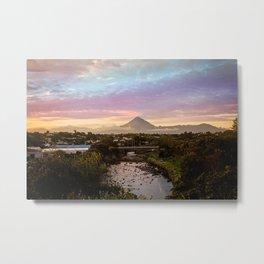 Mount Taranaki Sunrise Metal Print