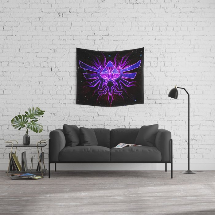 Light Of The Zelda Wall Tapestry