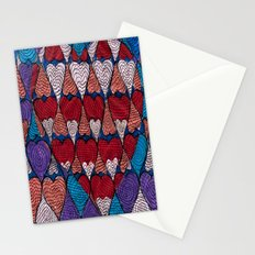 Op Heart Stationery Cards