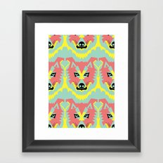 The Pack of Modular Wolves Framed Art Print