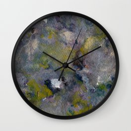 Lavender Marble Sky Wall Clock