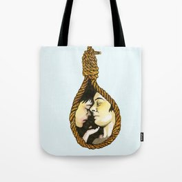 Lovers Knot Tote Bag