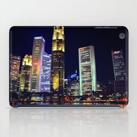singapore iPad Cases featuring Singapore Skyline by Mark Bagshaw Photography
