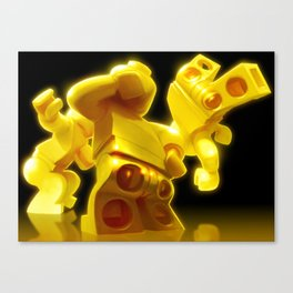 Yellow Butts Canvas Print