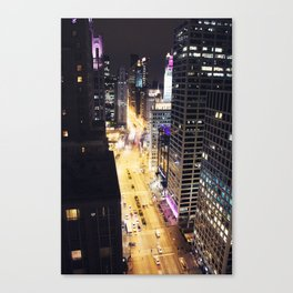 Michigan Ave. Canvas Print