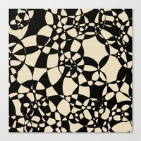 mosaic Canvas Prints featuring Mosaic by Glanoramay
