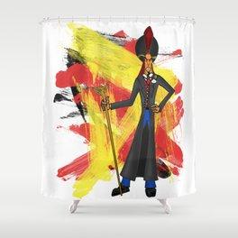 Disneyland Jafar - Evil Relations Shower Curtain