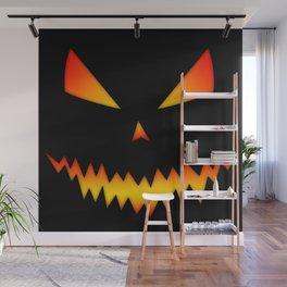 Cool scary Jack O'Lantern Halloween Wall Mural