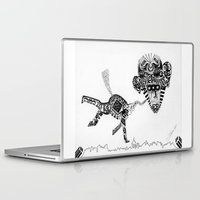 obama Laptop & iPad Skins featuring Barack Obama by Arber Thano