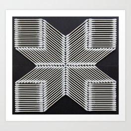 Qtip-top Shape Art Print