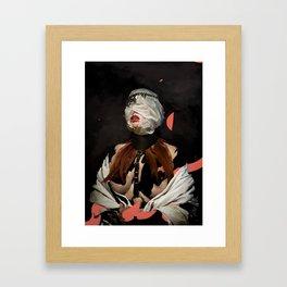 TENACIOUS GRIP Framed Art Print