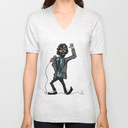 Jarvis Cocker Pulp Unisex V-Neck