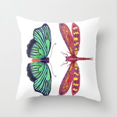 Hal and Red Throw Pillow