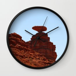 Mexican Hat Rock Wall Clock