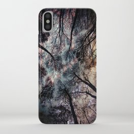 Starry Sky in the Forest iPhone Case