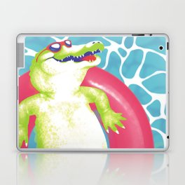 pool gator Laptop & iPad Skin