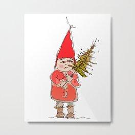 Christmas Child Metal Print