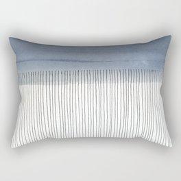 It Looks Like Rain Rectangular Pillow