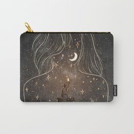 I see the universe in you. Carry-All Pouch
