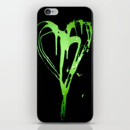 Painted Heart iPhone Skin