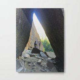 sharktooth cave Metal Print