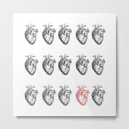 Heart You Metal Print