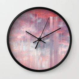 Kiss the Rain Wall Clock