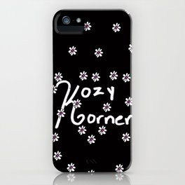 Kozy Korner iPhone Case