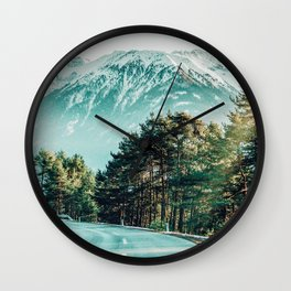 Road To Heaven #photography #nature Wall Clock
