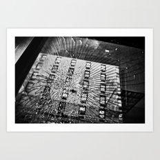 Shattered Reflections  Art Print