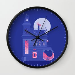 Cursed Residence Wall Clock