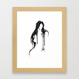 Spider's Kiss II Framed Art Print