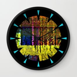 Spectral Analysis Wall Clock