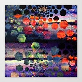 Hexdawn Canvas Print