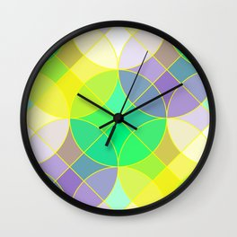 Elegant mosaic tile Wall Clock