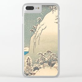 Mount Yuga Clear iPhone Case