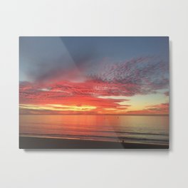 Redondo Beach California Sunset Metal Print
