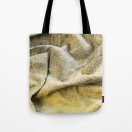 Worn Old Duster Cloth Close Up Tote Bag