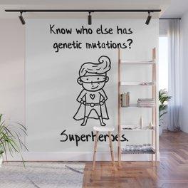 Down Syndrome Superhero Chromosomal Boys Kid  Gift Wall Mural