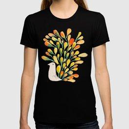 Watercolor Peacock T-shirt