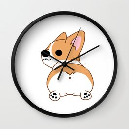 The booty Wall Clock