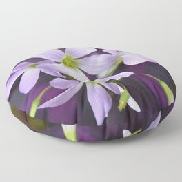 Lavender Petals No.2 | Nadia Bonello Floor Pillow
