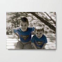 SUPER BOYS!! Metal Print
