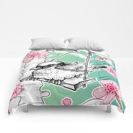 Elastic Heart Comforters