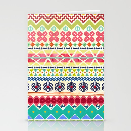 Fun Fair Isle Stationery Cards