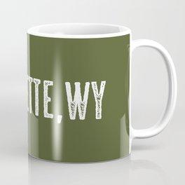 Deer: Gillette, Wyoming Coffee Mug