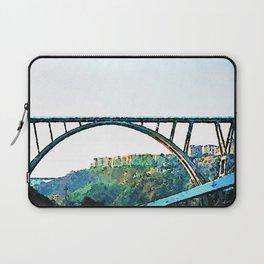 Catanzaro: Morandi bridge Laptop Sleeve