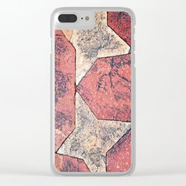 Tessellated Terrace Clear iPhone Case