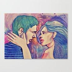 Talk to me Canvas Print