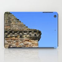castle in the sky iPad Cases featuring Edinburgh Castle & Sky by MerchChicago